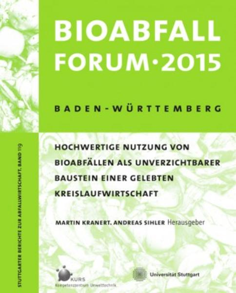 Bioabfall Forum 2015  - Coverbild