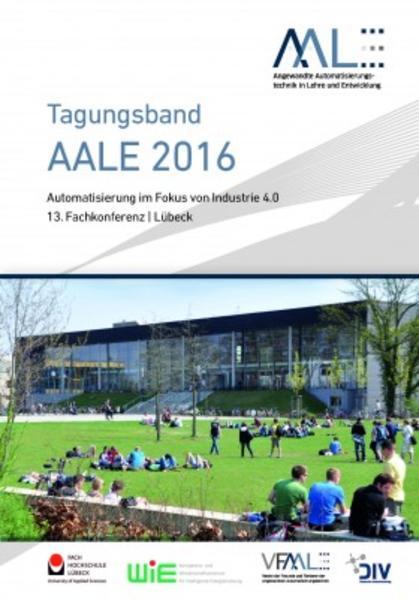 Tagungsband AALE 2016 - Coverbild