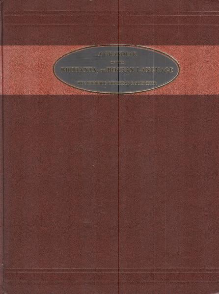 Grammatik der Bhotanta oder Boutan Sprache in Bhutan und Tibet /A Grammar of the Bhotanta or Boutan Language of Bhutan and Tibet - Coverbild