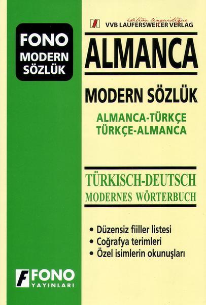 Großes Türkisch - Deutsches & Deutsch - Türkisches modernes Wörterbuch / Almanca - Türkce & Türkce Almanca Modern Sözlük - Coverbild