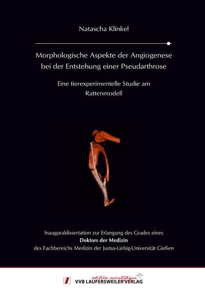 Morphologische Aspekte der Angiogenese bei der Entstehung einer Pseudarthrose - Coverbild