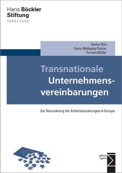 Transnationale Unternehmensvereinbarungen - Coverbild