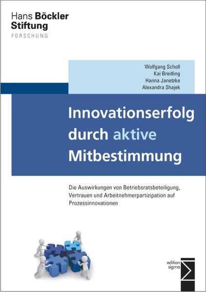 Innovationserfolg durch aktive Mitbestimmung - Coverbild