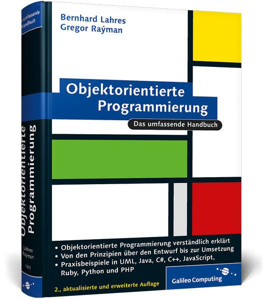Objektorientierte Programmierung - Coverbild
