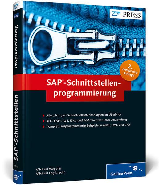 SAP-Schnittstellenprogrammierung - Coverbild