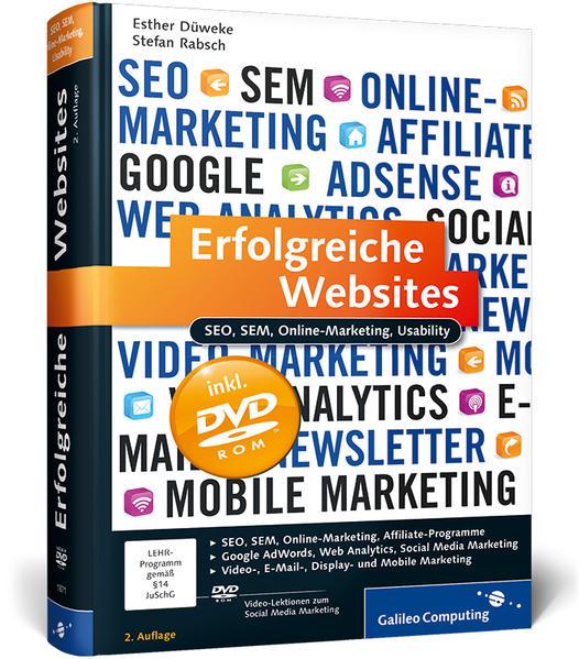 Erfolgreiche Websites - Coverbild
