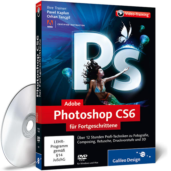 Adobe Photoshop CS6 für Fortgeschrittene - Coverbild