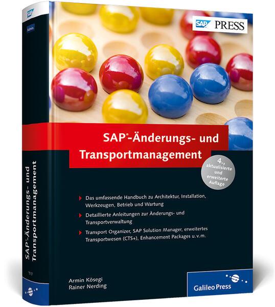 SAP-Änderungs- und Transportmanagement - Coverbild