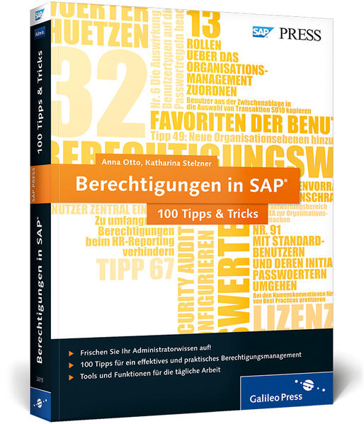 Berechtigungen in SAP − 100 Tipps & Tricks - Coverbild