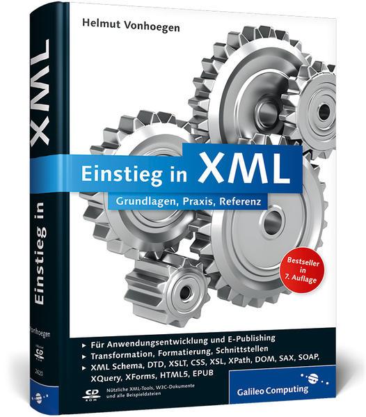 Einstieg in XML - Coverbild