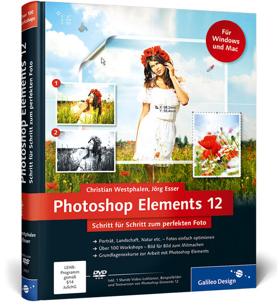 Photoshop Elements 12 - Coverbild