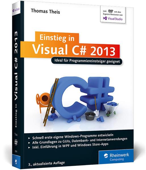 Einstieg in Visual C# 2013 - Coverbild
