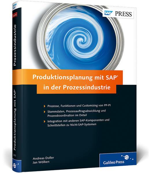 Produktionsplanung mit SAP in der Prozessindustrie - Coverbild