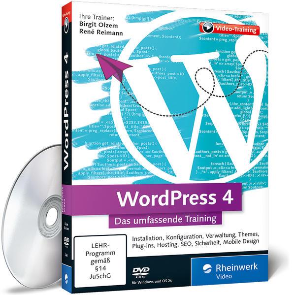 WordPress 4 - Coverbild