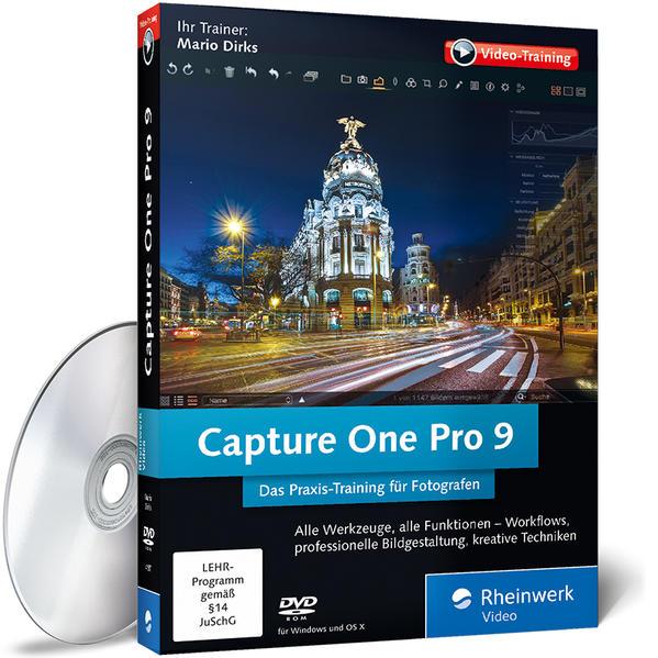 Capture One Pro 9 - Coverbild