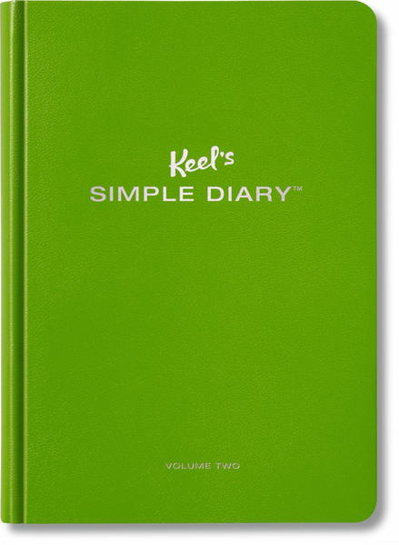 Keel's Simple Diary Volume Two (olive green) - Coverbild