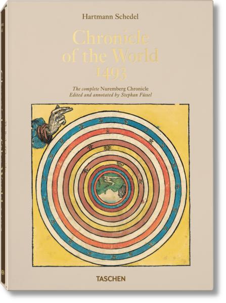 Hartmann Schedel. Weltchronik - 1493. Kolorierte Gesamtausgabe - Coverbild