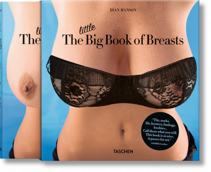 The Little Big Book of Breasts - Coverbild