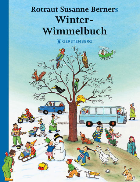 Winter-Wimmelbuch - Coverbild