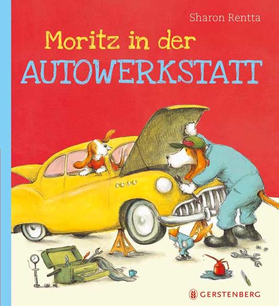 Moritz in der Autowerkstatt - Coverbild