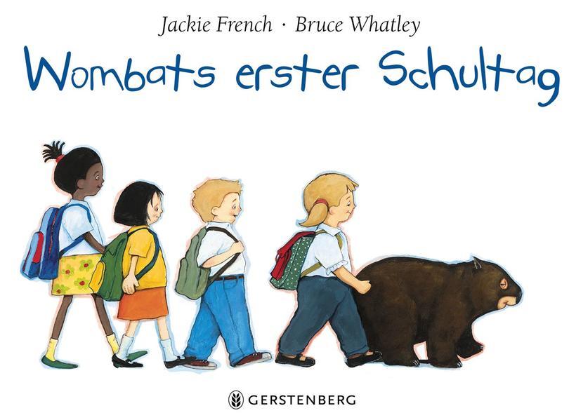 Wombats erster Schultag - Coverbild