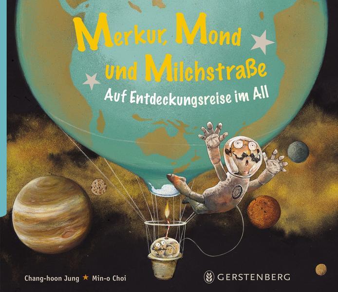 Merkur, Mond und Milchstraße - Coverbild