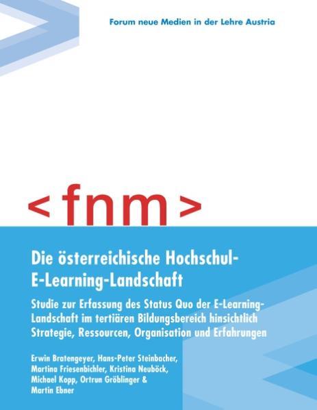 Die österreichische Hochschul-E-Learning-Landschaft - Coverbild