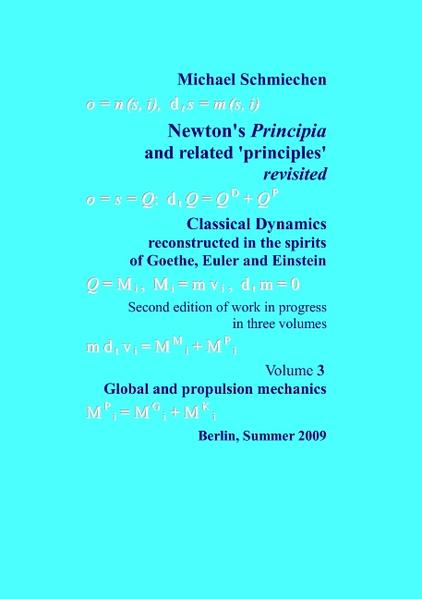 Newton's Principia revisited - Coverbild