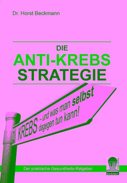 Die Anti Krebs Strategie - Coverbild