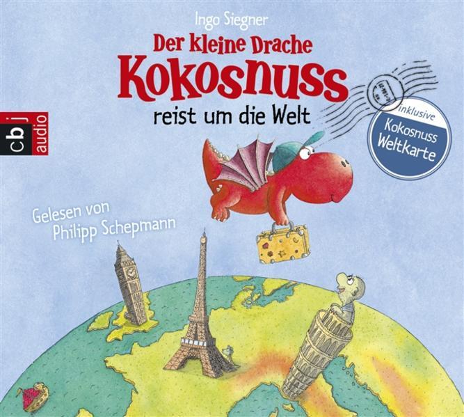 Der kleine Drache Kokosnuss reist um die Welt - Coverbild