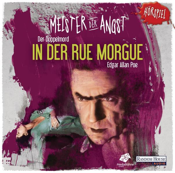 Meister der Angst - Der Doppelmord in der Rue Morgue - Coverbild