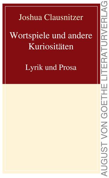 Wortspiele und andere Kuriositäten - Coverbild