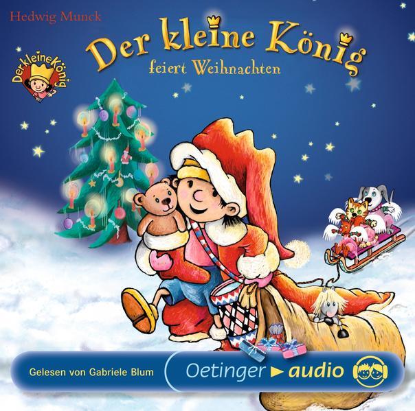 Der kleine König feiert Weihnachten (CD) - Coverbild