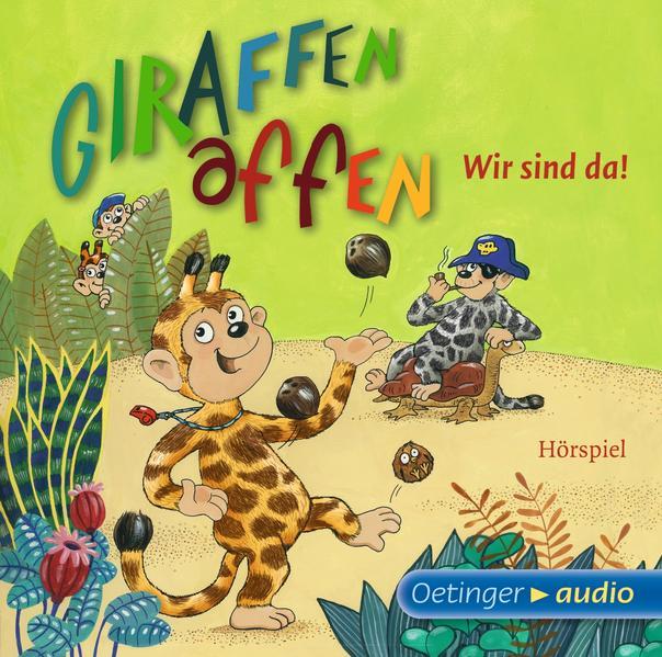 Giraffenaffen - Wir sind da! (CD) - Coverbild