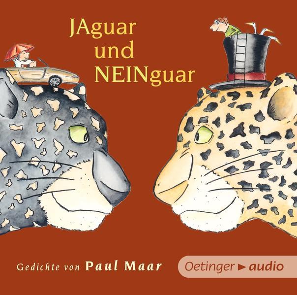 Jaguar und Neinguar. Gedichte von Paul Maar (NA CD - Coverbild