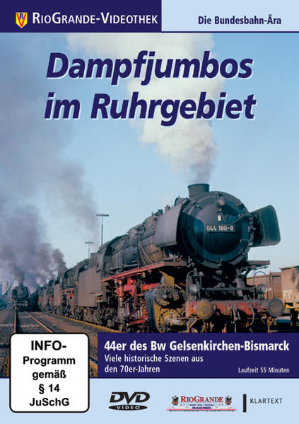 Dampfjumbos im Ruhrgebiet - Coverbild
