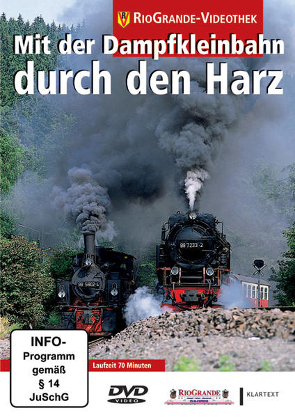 Mit der Dampfkleinbahn durch den Harz - Coverbild