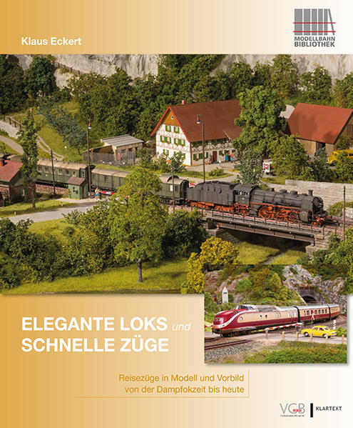 Elegante Loks und schnelle Züge - Coverbild