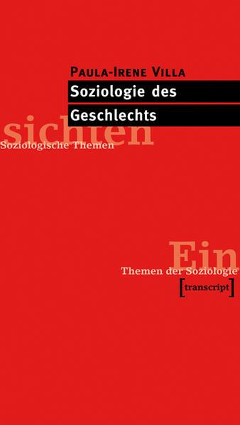 Soziologie des Geschlechts - Coverbild