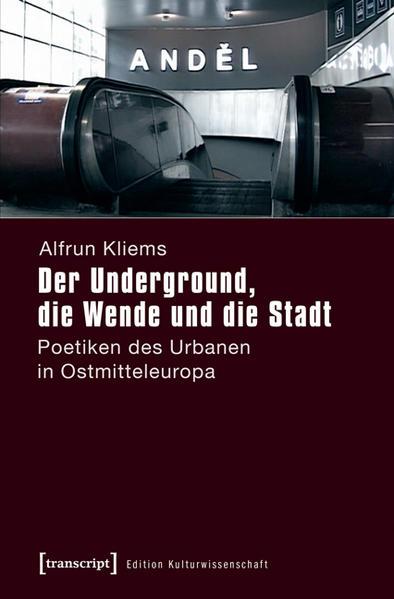 Der Underground, die Wende und die Stadt - Coverbild