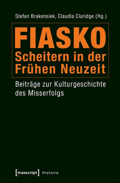 Fiasko - Scheitern in der Frühen Neuzeit - Coverbild