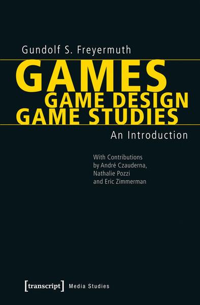 Games | Game Design | Game Studies - Coverbild