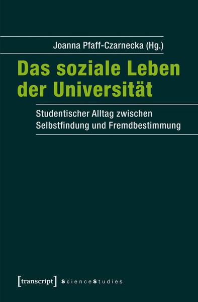 Das soziale Leben der Universität - Coverbild