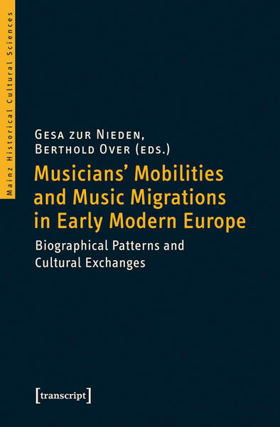 Musicians' Mobilities and Music Migrations in Early Modern Europe - Coverbild