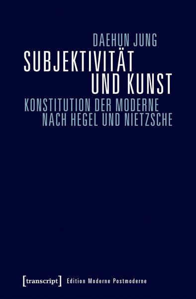 Subjektivität und Kunst - Coverbild
