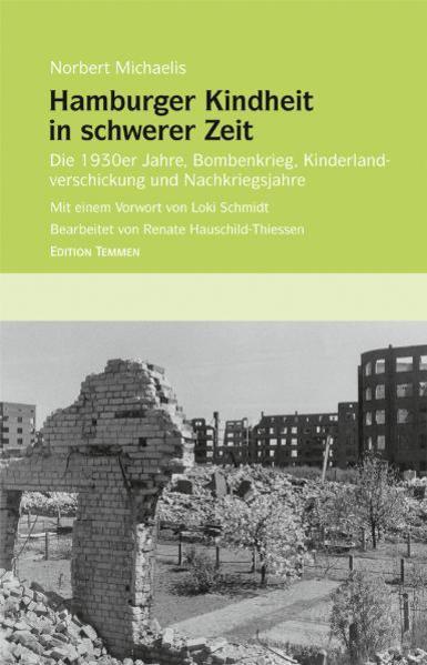 Hamburger Kindheit in schwerer Zeit - Coverbild