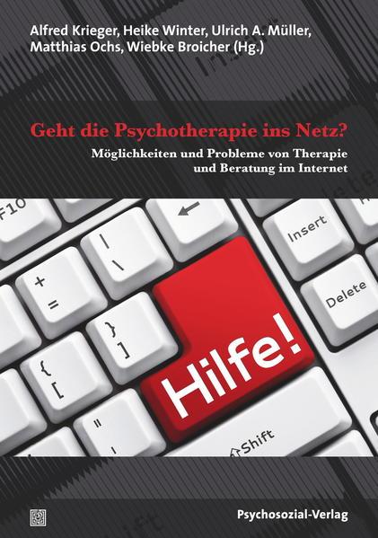 Geht die Psychotherapie ins Netz? - Coverbild