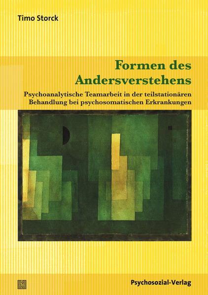 Formen des Andersverstehens - Coverbild