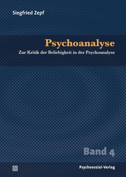 Psychoanalyse - Coverbild
