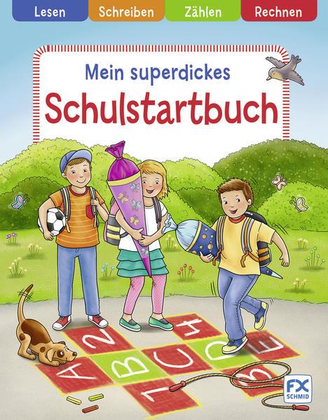 Mein superdickes Schulstartbuch - Coverbild